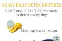 Healthy Living Tips & Reminders / Ways to be more mindful about my daily health and general well-being. / by Susan McClain