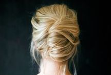 Flight Attendant Hairstyles / I'm sick of my ponytail and my hair is too long to wear down. In search of an attractive alternative. / by Susan McClain