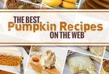 The Great Pumpkin / Savory and sweet pumpkin recipes for pumpkin lovers. Celebrate Fall with the flavor of pumpkin. / by The Pasta Shoppe
