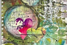 Art Journal/Mixed Media inspiration / by Melissa Johnson