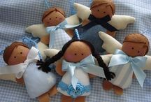 Felt Angels- For Mom / by Mary Sue Messinger