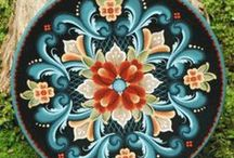Rosemaling and Tole / by Poppy Fields