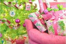 holiday fun...pink christmas... / i'm dreaming of a pink christmas / by Debbie Young