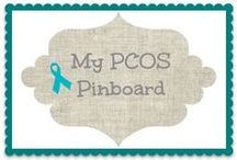 PCOS Awareness / Polycystic Ovarian Syndrome - I personally been dealing with since December 2009 / by Sherry Paquette