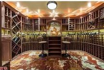 Dream Home: Wine Lovers / In California's Wine Country, wine is a way of life! Our collection of the best wine cellars, wine storage ideas, and items made from wine bottles and barrels.  / by Frank Howard Allen