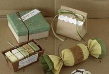 gift wrap ideas  / by Maria Veigman