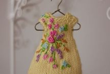 Dolls -  Knitted Clothes, etc. / by Shelley Mierle