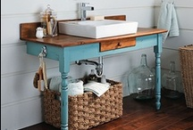Dream Home: Upcycle / Everything old is new again! Our favorite project ideas for upcycling, recycling, and reusing around the home. / by Frank Howard Allen