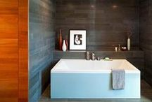 Dream Home: Bathrooms / Showcase of fabulous interior design that features the best bathroom sinks, tubs, showers and fixtures - both indoor and outdoor - for the ultimate dream house. / by Frank Howard Allen