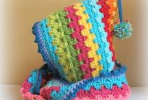 Crochet Scarves, Hats, Ponchos, Wraps / by Carie Wright