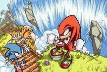 Favourite Fanart: Sonic the Hedgehog / by Jessica Nevala