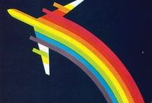 AIRLINE POSTERS etc / by Steve .. Saved by the Grace of God