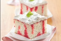 Cakes / Cupcakes - Poke  / by Donna Pettite