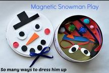 Craft. Kids. Winter. / Crafts, activities and recipe ideas to occupy the children during Winter / by Domestic Goddesque