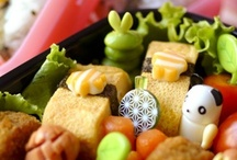 Bento - Kyaraben  / Kyaraben is a style of elaborately arranged bento (Japanese boxed lunch) which features food decorated to look like people, animals, plants, etc.  / by J A M I S E N