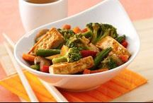 Quick, Easy Meals / We all lead busy lives and it's daunting to come home after work or errands and try to come up with a creative, healthy meal the whole family will like. We understand these pressures and would like to help with some quick, easy and, most importantly, nutritious dishes: / by Soyfoods Association of North America