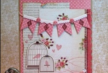 Cards with Pennants & Banners  / by Sharron Moerke