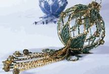 Beaded Ornaments / by Cheryl VanGuilder