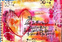 Art - Line art, zentangles and patterns / by Ara Delon