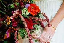 2014 Wedding Flower Trends / floral table runners, garden inspired centerpieces, potted plants, flower jewelry... / by Kelly Cox (Grove Design)