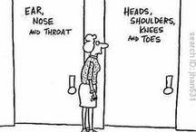 Medical Cartoons / by MediaMed