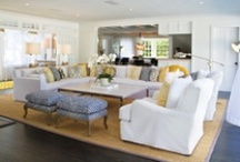 Family, Living, & Sitting Rooms / by RachelGrace