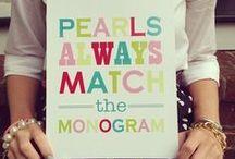 monogram it / by Kenzie Mathess