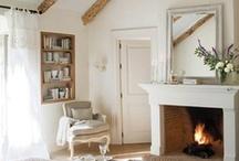 Fireplaces/Mantels  / by RachelGrace