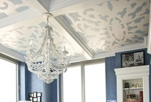 Wall and Ceiling Treatments / by RachelGrace