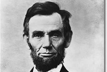 Abraham Lincoln / My favorite president and one of the best presidents in United State's history.  He wasn't only a great president but also a great man! / by Trula Lewis-Hummerick