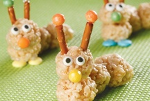 ♥ Food For The Kiddos / Cute & creative food ideas for the kiddos / by Chanda Ladines