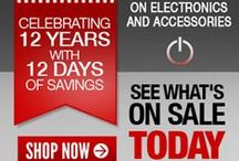 12th Anniversary 2014 / Celebrate with us our 12th Anniversary with coupon offers throughout all catgories / by Monoprice.com
