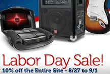 Labor Day Ideas 2014 / Save 10% on all electronics and accessories at monoprice.com. Use coupon LABORDAY10 until September 1st. / by Monoprice.com