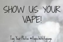 Show Us Your Vape! / Vapors From Around The Globe.  Do you use an E-cig or PV? Do you choose a lifestyle of vaping over the old analog smoking? If you do, we wanna see your vape! Tag Your Photo with #vapewithvapage / by Vapage