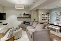 Home | Basement Remodel / by Cecilly Sears