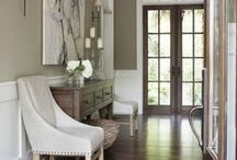 Homes - Other Spaces and Accents / Entries, hallways, corner spots, stairways, vignettes, accents... / by Judy Crovisier