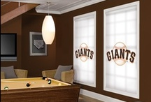 Sports Window Blinds - Ultimate Collection Of Collegiate, NHL, MLB and Hunting Blinds / A Board Focused On Fantastic Looking Sports Decor Including MLB®, NHL®, Collegiate, and Hunting Window Treatments. / by Blinds Chalet