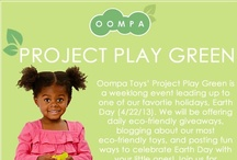 Project Play Green! / Project Play Green! Re-pin to win! Enter to win one of Hape's bamboo games each day this week (4/15-4/19) as well as a grand prize package on Monday (4/22), Earth Day!