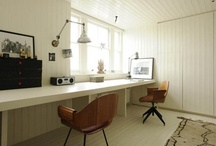 Workspaces.  / I would work much better in a place like this.  / by Berta Viteri Ramírez