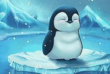 Penguin Art | Singles / I am happy to share. Please feel free to pin whatever you like with any caption you please. No daily or other limits! / by Mimmi Penguin