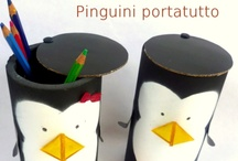 Kid Crafts / I am happy to share. Please feel free to pin whatever you like with any caption you please. No daily or other limits! / by Mimmi Penguin