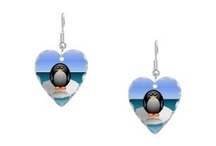 Hearts - Earrings / I am happy to share. Please feel free to pin whatever you like with any caption you please. No daily or other limits! / by Mimmi Penguin