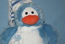 Penguin Plush / I am happy to share. Please feel free to pin whatever you like with any caption you please. No daily or other limits! / by Mimmi Penguin