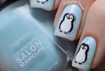 Penguin Nail Designs / by Mimmi Penguin