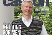 Cast On: August-October 2013 / Links to the patterns you'll find in this issue! / by The Knitting Guild Association
