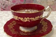 China cups & saucers, & teapots /  Plates, & Teapots / by Sue Ashley McCausland