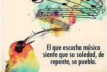 Mi música del alma / El lenguaje universal, la música, eterna y fiel compañera de momentos felices y no tan felices... oasis para el alma... / by Carmen Rodriguez