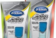 Dr. Scholl's®Active Series® Insoles and InfluensterVox / work out ideas and exercise tips and get fit advice and helpful tools / by Oh Boy, Cato!