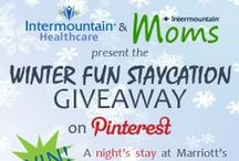 Intermountain Moms Winter Fun Staycation Giveaway / Your resource of images that you can re-pin on your own board to enter the Intermountain Moms Winter Fun Staycation Giveaway! / by Intermountain Healthcare