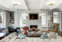 Family room new / by Amy Golden
